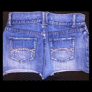 Abercrombie & Fitch Jean Diamond Skirt